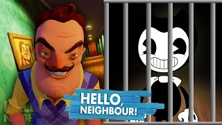 Download HELLO NEIGHBOUR TAKES BENDY! - Minecraft Hello Neighbour Video