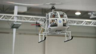 Download RC Heli Indoor Flight + Heli CRASH Video