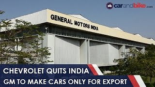 Download Chevrolet Officially Exits The Indian Automotive Market - NDTV CarAndBike Video