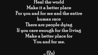 Download Michael Jackson - Heal The World ( letra ) Video