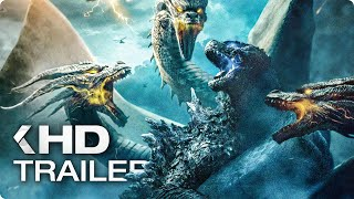 Download GODZILLA 2: King of the Monsters - 12 Minutes Trailers & Clips (2019) Video