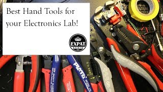 Download Best hand tools for an electronics lab or workshop! Video