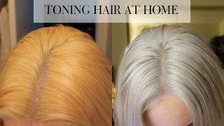 Download TONING BLEACHED HAIR AT HOME | Wella T18 Video