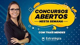 Download Concursos Abertos Nesta Semana - 05 a 12 de Janeiro de 2020 Video