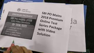 Download SBI PO Mains 2018 Premium Online Test Series | Pace up your Preparation for SBI Exam Video