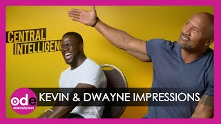 Download Kevin Hart & The Rock do hilarious impressions of each other! Video