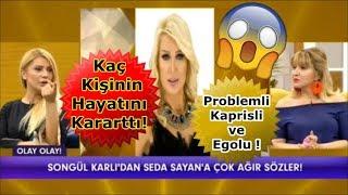 Download Songül Karlı'nın Seda Sayan Hakkındaki Olay Açıklamaları! Kaç Kişinin Hayatını Kararttı! Video