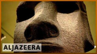 Download 🗿Easter Island asks London museum to return its 'stolen' statue | Al Jazeera English Video