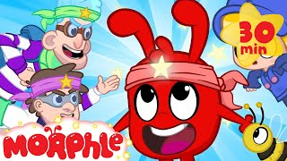 Download Ninja Morphle! - My Magic Pet Morphle | Cartoons For Kids | Morphle TV | BRAND NEW Video