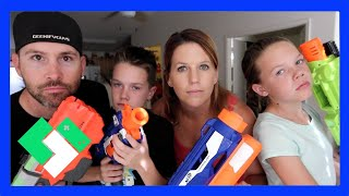 Download EPIC NERF GUN BATTLE! (Day 1475) | Clintus.tv Video