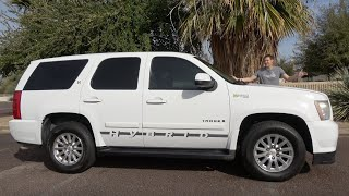 Download The Chevy Tahoe Hybrid Was a Truly Terrible SUV Video