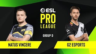 Download CS:GO - G2 Esports vs. Natus Vincere [Mirage] Map 2 - Group D - ESL EU Pro League Season 10 Video