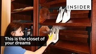 Download Revolving shelves are a must in your dream closet Video