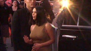 Download Kim Kardashian Attends Promise Premiere Video