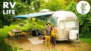 Download Nomadic Couple Living in an Incredible Vintage Airstream - Interview & Tour Video