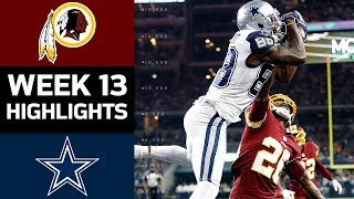Download Redskins vs. Cowboys | NFL Week 13 Game Highlights Video