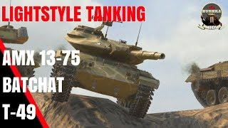 Download LIGHT TANKS OF BLITZ WITH BUSHKA T49 BATCHAT AMX 13 75 Video
