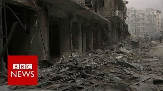 Download Syria rebels 'withdraw from Old City' of Aleppo- BBC News Video