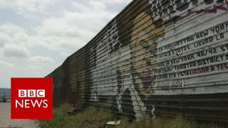 Download What Mexicans think of Trump's wall - BBC News Video