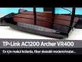 Download TP-Link AC1200 Archer VR400 Modem/Router incelemesi ″Ev için makul ve stabil″ Video