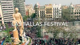 Download Las Fallas Festival, Valencia ~ Spain's Most Explosive Festival Video
