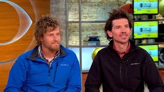 Download American climbers on harrowing climb up Mt. Everest Video