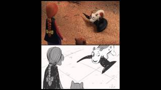 Download Room On The Broom - Storyboard Comparison - Dog Video