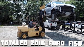 Download Rebuilding a Wrecked 2016 Ford F150 Part 1! Video