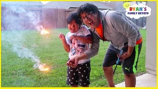 Download 4th of July Fireworks Family Fun Celebration with Ryan's Family Review Video