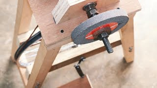 Download Homemade Project Using Bicycle Wheel || Make A Grinding Machine Video