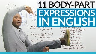 Download Learn English: Expressions that use body parts! Video