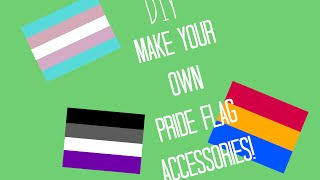Download DIY Pride Flags Projects!! Make Necklaces, Pins, Magnets, and More! Video