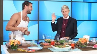 Download Naked Peruvian Chef Franco Noriega Heats Things Up with Ellen Video