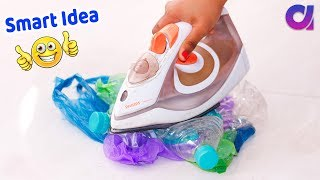 Download 5 Genius Plastic bottle crafts ideas to make in 5 minutes | Artkala 453 Video