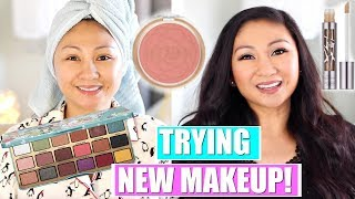 Download GET READY WITH ME! TRYING NEW MAKEUP! | Too Faced Clover Palette, Juno Sponge, Nars, Urban Decay, Video