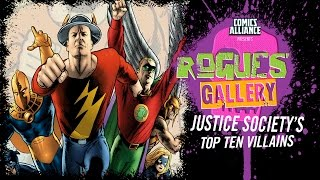Download 10 Greatest Justice Society of America Villains - Rogues' Gallery Video