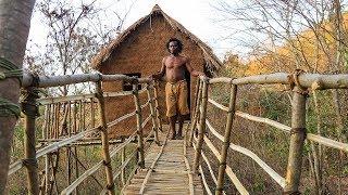 Download Primitive Build Sky Bridge On The Tree By Acient Man Part 1 Video