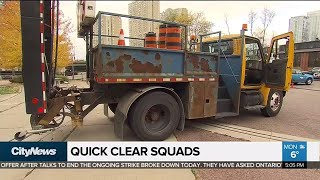 Download 'Quick clear squads' to be permanent part of morning commute Video