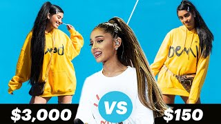 Download $3,000 Vs. $150 Ariana Grande Outfit Video