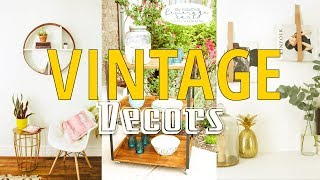 Download 20 Vintage Decor ideas for anyone loves DIY activities Video
