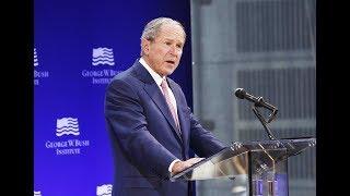 Download George W. Bush Attacks Trump Video