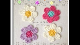 Download Como hacer una flor a crochet ...La magia del crochet Video