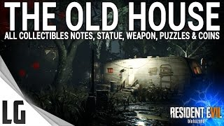 Download Resident Evil 7 - Old House Collectibles Guide (Items, Weapons, Statues, Notes, Antique Coins) Video