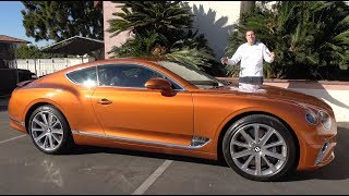 Download The 2019 Bentley Continental GT Is a $250,000 Ultra-Luxury Coupe Video