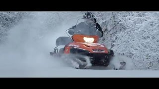 Download Тест-драйв снегохода Yamaha VK540V Video