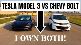 Download Tesla Model 3 vs Chevy Bolt - An opinion from someone who owns BOTH Video