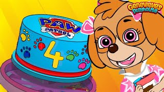 Download Paw Patrol Skye's BIRTHDAY Animation for Kids! Video