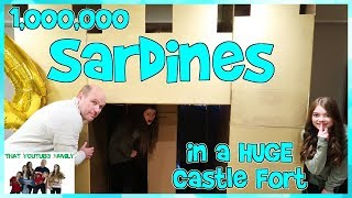 Download SARDINES In A HUGE Castle Box Fort With A Maze! / That YouTub3 Family Video