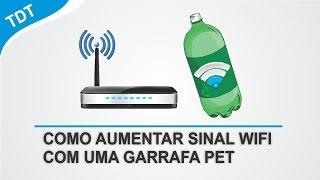 Download Como Aumentar Alcance do Sinal WiFi Com Uma GARRAFA PET Video