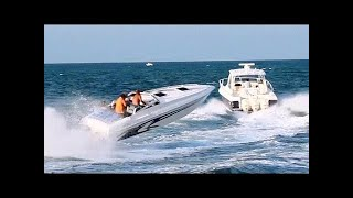 Download Speed Boats at Haulover in Miami 5-25-2014 Video